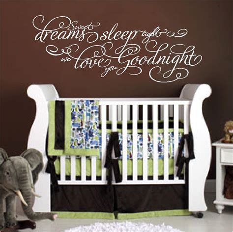 Silver Letters Home Decor by Baby Quotes Sleep Dreams Sleep Tight We Love You