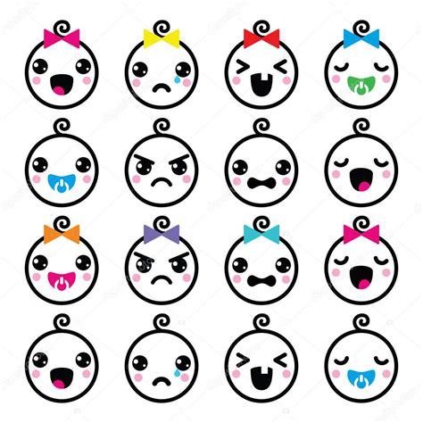 imagenes de bebes kawaii kawaii b 233 b 233 gar 231 on et fille visage mignon ic 244 nes d 233 finies
