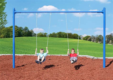 multi person swing single post swing sets play with a purpose