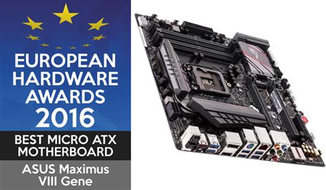 best micro atx board european hardware awards 2016 les gagnants