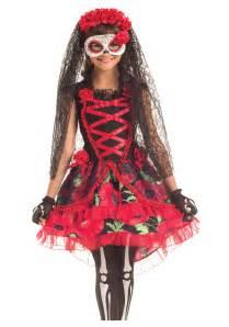 Day Of The Dead Halloween Costumes Child Day Of The Dead Senorita Costume