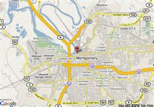 where is montgomery on a map map of renaissance montgomery hotel spa at the