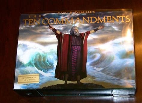 The Ten Commandments Gift Set the ten commandments limited edition gift set dvd talk review of the
