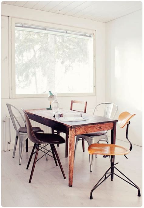 picture of mixed dining chairs