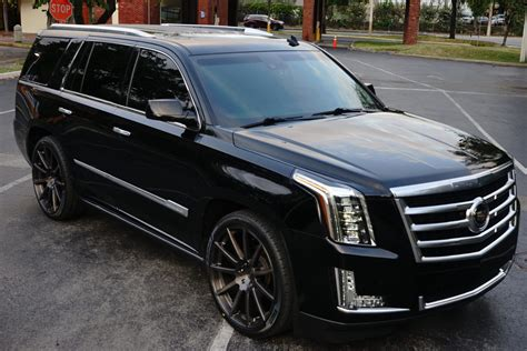 cadillac escalade  velos   forged wheels velos