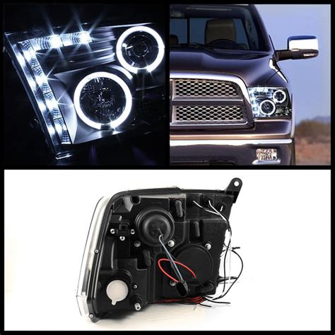 Dr09 White Limited hid xenon 09 2014 dodge ram 1500 2500 3500 ccfl halo