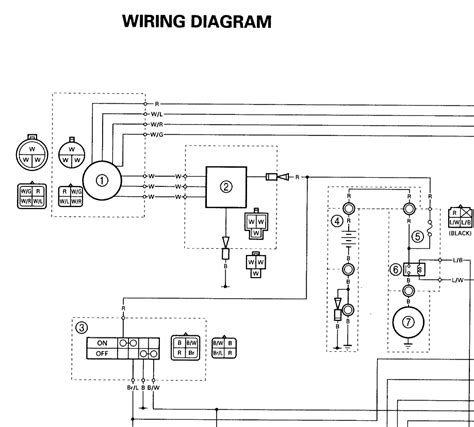 wiring diagram for yamaha blaster get free image about