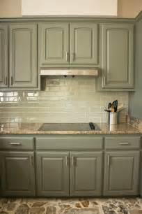 color kitchen cabinets best 25 green kitchen cabinets ideas on green