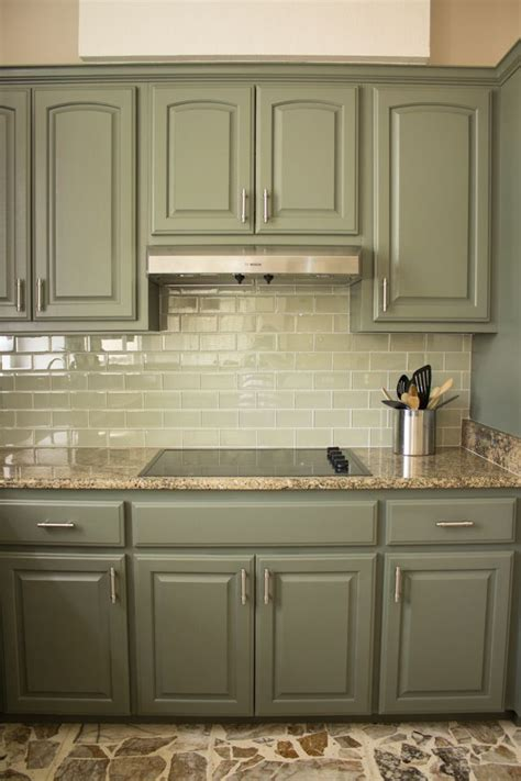 kitchen cabinet paint colours best 20 green kitchen cabinets ideas on