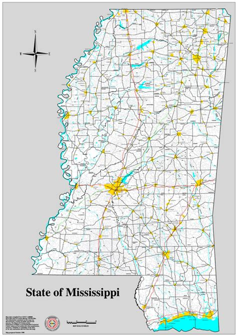 printable map mississippi best photos of mississippi state map with cities and towns