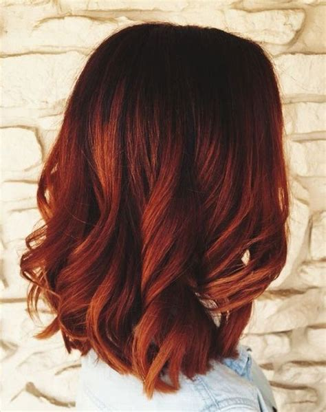 red ombre hair 32 best red ombre hair color ideas