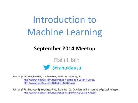 introduction to machine learning ppt video online download introduction to machine learning