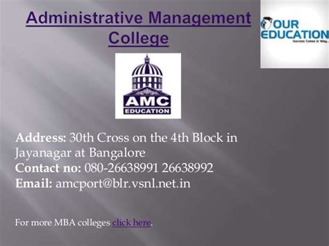 Mba College Timings In Bangalore by Top Mba Colleges In Bangalore