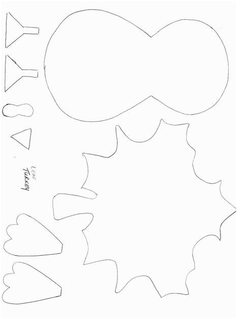 turkey pattern for kindergarten best 25 turkey template ideas on pinterest fall art