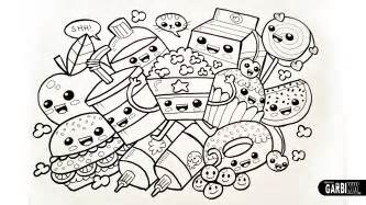 cute food coloring pages coloring pages