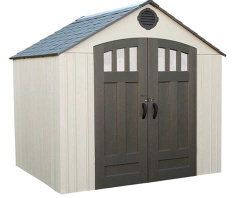 Lifetime Outdoor Storage Shed Lifetime 8 X 6 5 Ft Outdoor Storage Shed 60147a