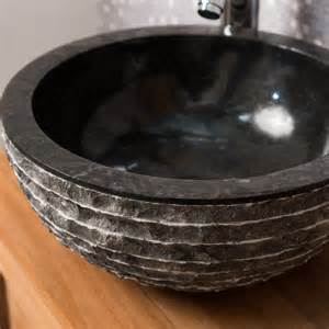 lave de wc 224 poser en marbre v 233 suve rond noir d