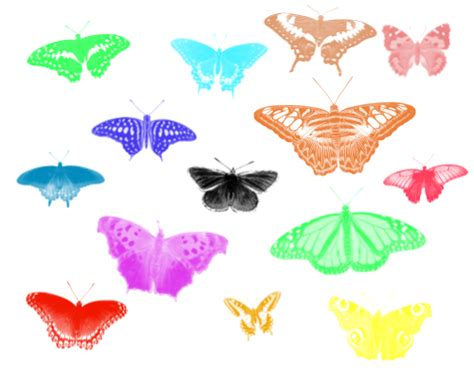 imagenes en png de mariposas mariposas 3 butterflies 3 14 pinceles todo gimp