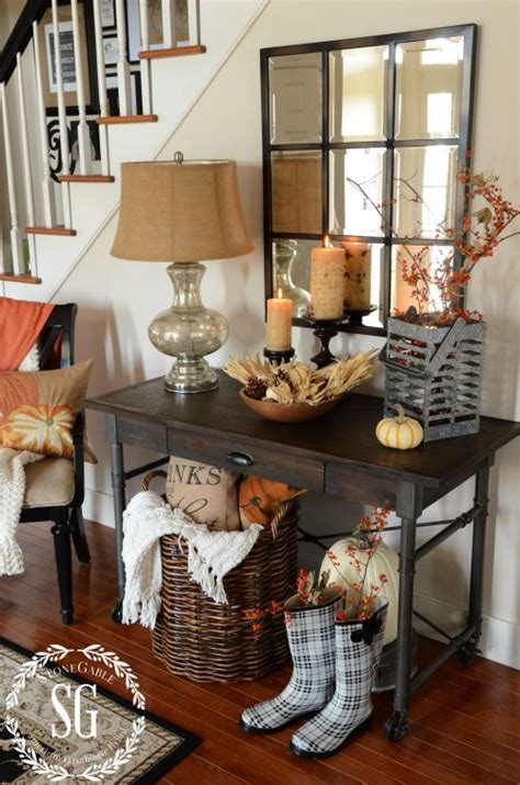 fall entryway decorating ideas 10 do it yourself fall vignette ideas