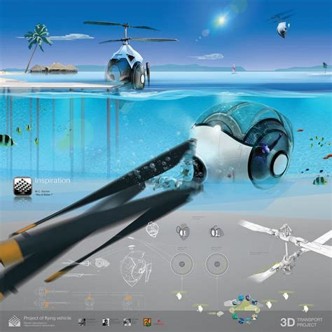 water scooter flying sky and water futuristic flying vehicle wordlesstech