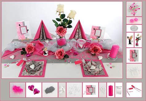 Tischdeko Hochzeit Silber by Tischdeko Hochzeit 15 In Pink Silber Als Mustertisch