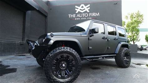 Murdered Out Jeep Jeep Wrangler Unlimited Blacked Out Image 184