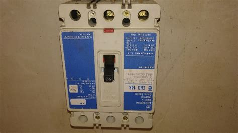 westinghouse ehdl  amp  pole circuit breaker