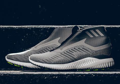 Adidas Alphabounce Black Grey Original Sneakers adidas alphabounce mid grey bw1385 sneaker bar detroit
