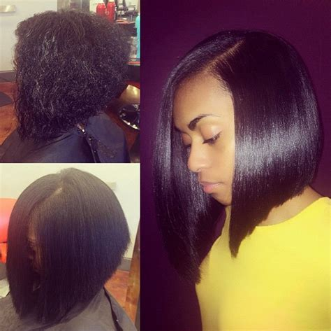 short pressed hairstyles silk press bob by hairbychantellen where do i sign up