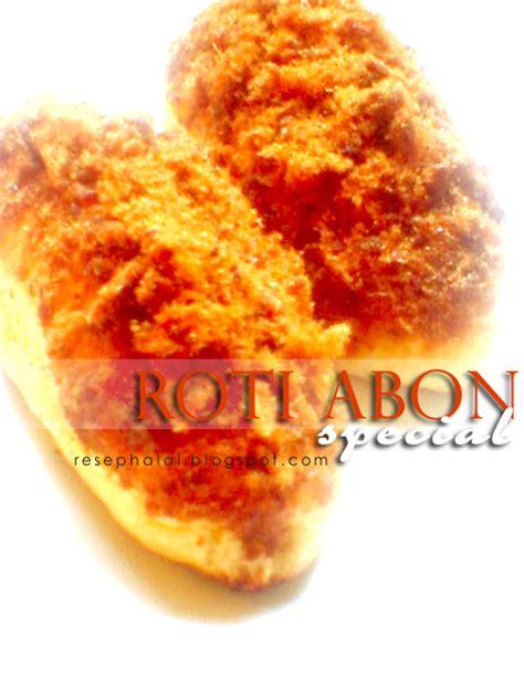 Abon Sapi 100 Halal roti abon special resep halal
