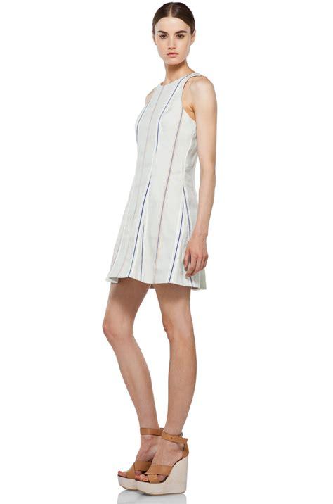 Hem Adeline Blue rag bone adeline dress in pale blue 2
