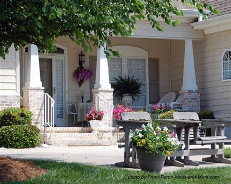 Small Porch Designs Can Have Massive Appeal Front Patio Design