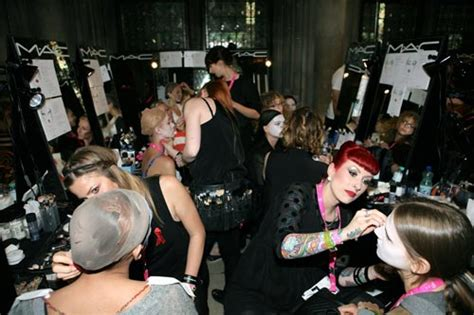 Backstage Mac by Mac Cosmetics Backstage Views At 2014 In Vienna