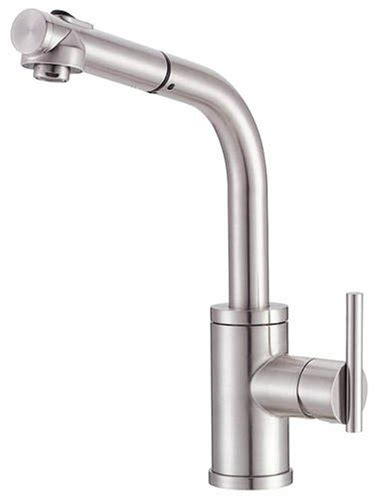 danze kitchen faucet reviews danze d404558ss parma single handle kitchen faucet with pull out spout reviews jhg676sfd