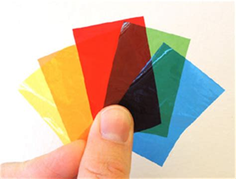colored cellophane sheets cellophane pop goes the page