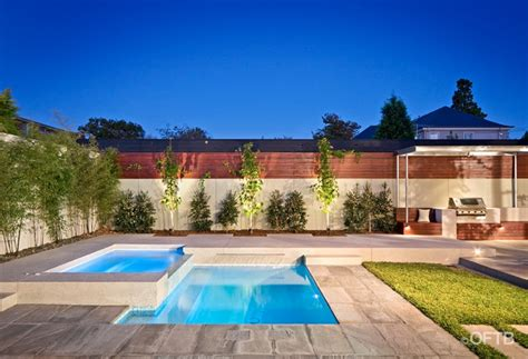 How To Build Raised Garden - oftb melbourne landscaping pool design amp construction project pool amp spa inc water feature