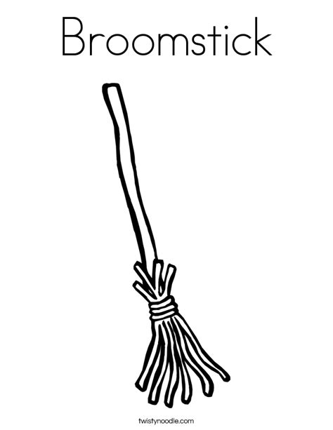 witch broomstick coloring page broomstick coloring page twisty noodle