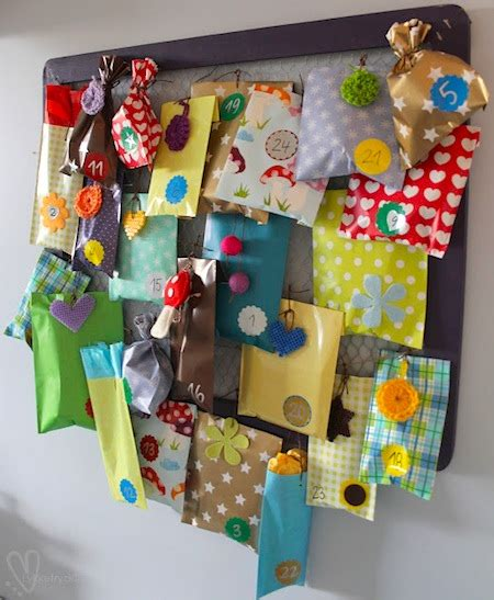 Handmade Creative Things - 24 creative advent calendars things to make