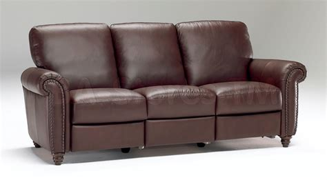 Traditional Leather Sectional Sofa by Natuzzi Editions Traditional Leather Sectional Sofa B557