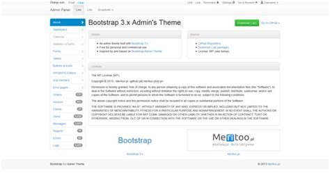 bootstrap templates github free bootstrap admin themes and templates to