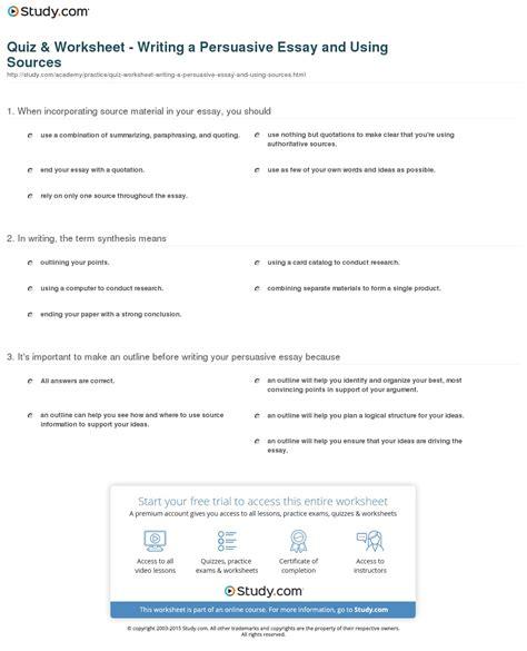 Esl Argumentative Essay Writing Site For Mba by Worksheet Persuasive Essay Worksheets Grass Fedjp