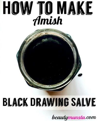 drawing salve for an ingrown hair homemade amish drawing salve recipe for splinters boils