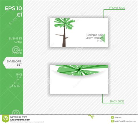 corporate identity design for business abstract vector
