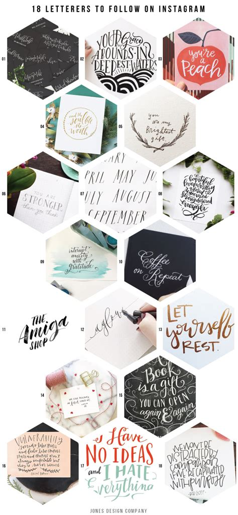 design firm instagram 18 lovely letterers to follow on instagram jones design