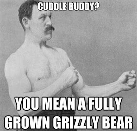 Cuddle Buddy Meme - mustache man cuddle meme1 lovequotesmessages