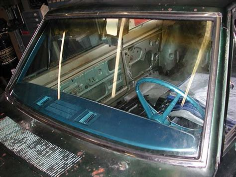 what side does a st go on 1967 plymouth valiant windshield install project build