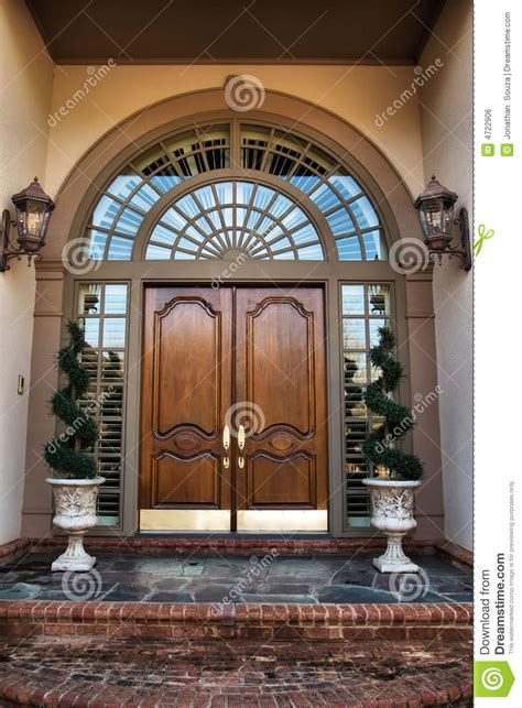 grand colonial front door lovable main door and windows front door entrance to home royalty free stock image