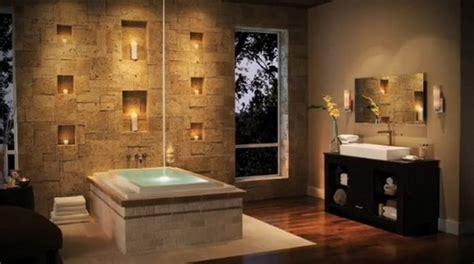 banheiros decorados pedras