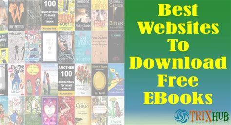 book free download top 10 best websites to download free ebooks pdf in 2016