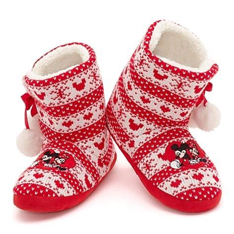 minnie mouse bedroom slippers minnie mouse nordic slipper boots for adults minnie